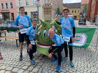 Das AOK-LL-Team in Kamenz