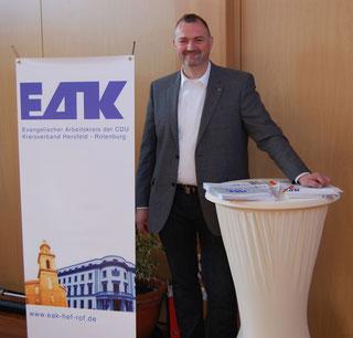 Ralph Habener, Kreisvorsitzender des EAK