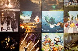 """Exposition """"ARTWORKS Jeux Vidéo castries"""
