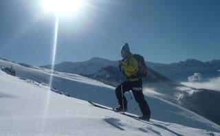 Sorties en ski de rando ou en splitboard à la Mongie