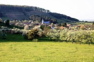 Village de Viéville sous les Côtes - Meuse - Lorraine