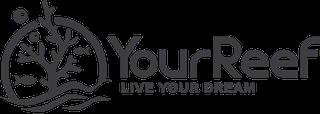 Logo YourReef in schwarz