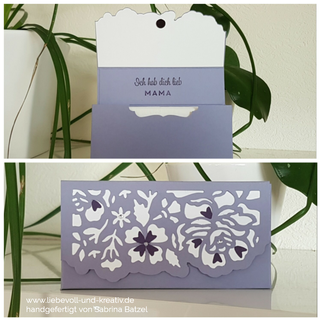Stampin Up Verpackung Taschentücher Framelits Florale Fantasie