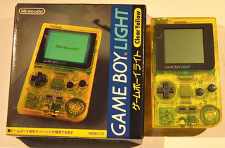 Gameboy Light Console Variations The Database For All Console