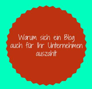 hinweis auf die wichtigkeit eines blogs für unternehmen