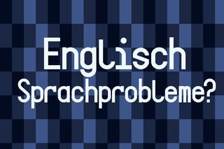 englisch Sprachprobleme