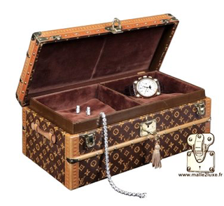 Louis Vuitton flower trunk for jewelry
