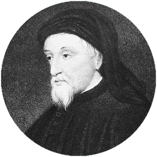 Portrait of Chaucer (ca. 1380), found on Wikipedia, PD-Old.