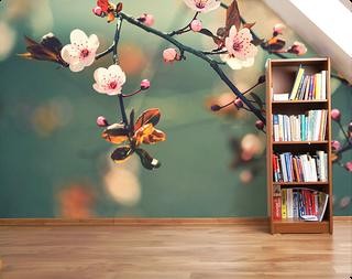 C mo decorar tus espacios con viniles decorativos y - Decorar con fotomurales ...