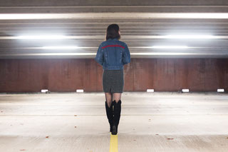 Wonder Woman Denim Jacket from NHNCD