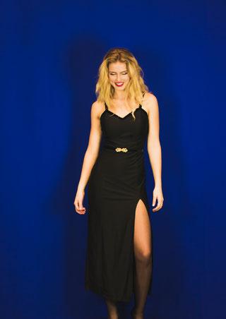 Velvet Straps Dress from NHNCD