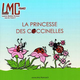 Princesse Coccinelles Conte enfant LMC France leucemie myeloide chronique DABAN