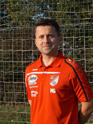 Trainer Harald Bösner