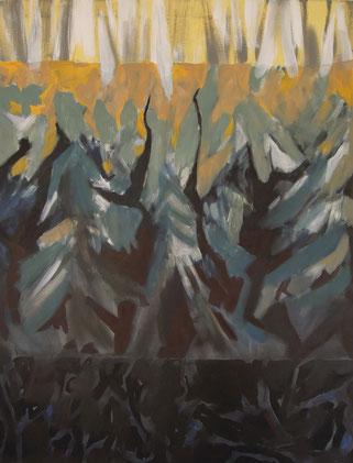 Acryl auf Leinwand, 90 x 70 cm