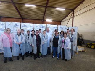 Besuch Waffelfabrik Frankenberg, März 2017