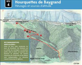 Circuit Bager d'Oloron vers Hourquette ou Escurets