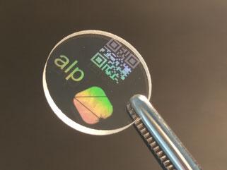 Laserbeschriftung von Quarzglas