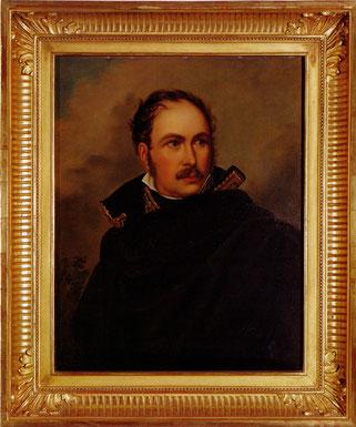 Eugène; F. Gérard. Das Bild hängt in Eugensberg.