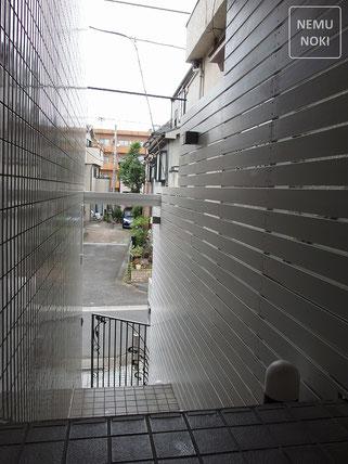 ウッドフェンス、目隠しフェンス、ライトアップ、塗装、施工例