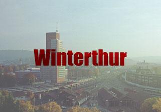 Flyer verteilen Winterthur