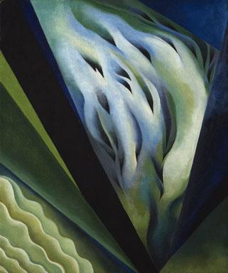 《青と緑の音楽》1921年