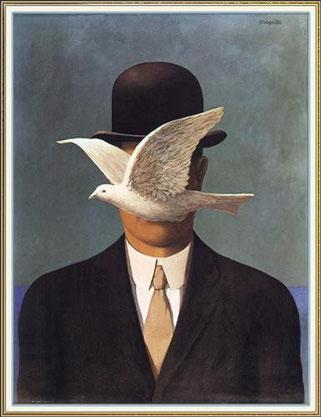 「山高帽の男」