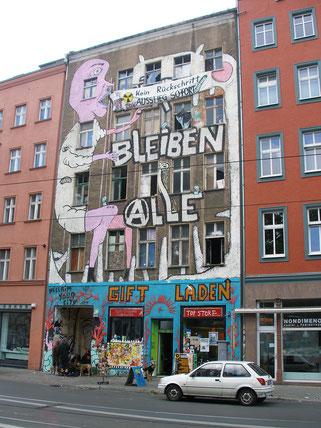 ※8:以前のベルリン、ミッテ区のストリートアート