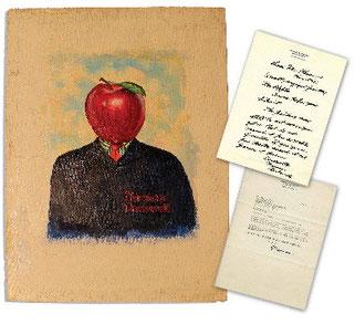 ノーマン・ロックウェル『ミスター・アップル』