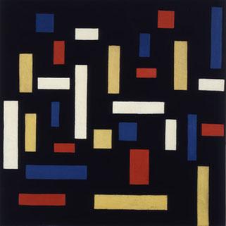 デオ・ヴァン・ドゥースブルフ「Composition VII」(1917年)