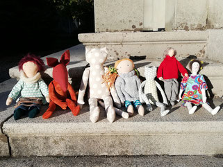 Puppen für grosse und kleine Kinder