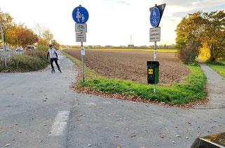 Gelände für den zusätzlichen Parkpatz: Zweifel angebracht