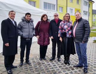 Dr. Christoph Rabenstein, Halil Tasdelen, Elisabeth Zagel, Siegfried Zerrenner, Dr. Beate Kuhn und Thomas Bauske von der SPD-Fraktion