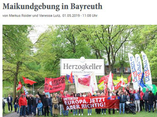 """Mit Klick zum Bericht des """"Nordbayerischen Kurier"""""""
