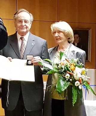 Prof. Dr. Siegfried Klautke mit seiner Gattin