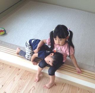 横浜 港南区の畳屋さん 内藤畳店 畳と子ども