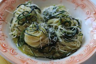 Mönchsbart mit Pasta und Olivenöl Oligarto Rezepte