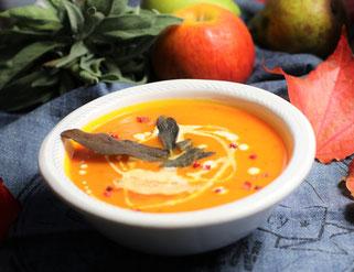 Kürbissuppe mit Olivenöl kochen Oligarto