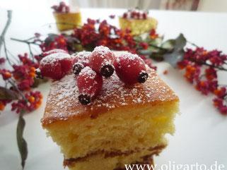 Zitronenkuchen mit Hagebutte Olivenöl Oligarto Rezepte