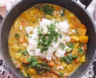Gemüsecurry mit Reis Oligarto Rezepte