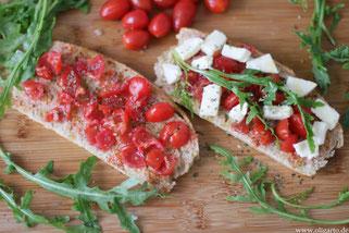 Pane e pomodor Tomatenbrot Oligarto rezepte