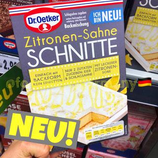 Dr. Oetker Zitronen-Sahne Schnitte