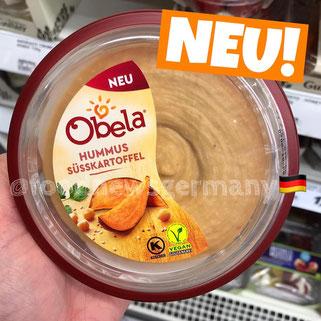 Obela Hummus Süsskartoffel