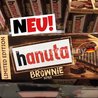 Hanuta Brownie Style