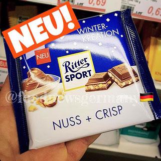 Ritter Sport Nuss + Crisp
