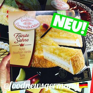 Coppenrath & Wiese Feinste Sahne Apfel Bourbon-Vanille Torte