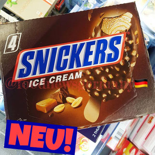 Snickers Ice Cream am Stiel