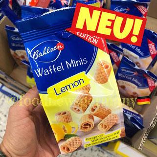 Bahlsen Waffel Minis Lemon