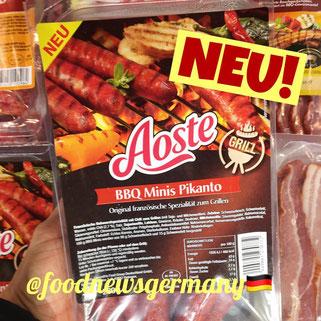 Aoste BBQ Minis Pikanto