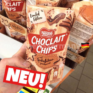 Nestle Choclait Chips Spekulatius