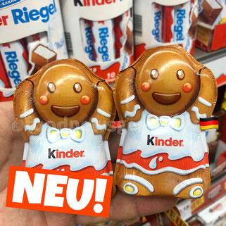 Kinder Schokolade Lebkuchenmännchen